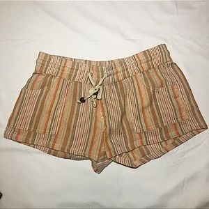 Rip Curl Striped Shorts Size Small